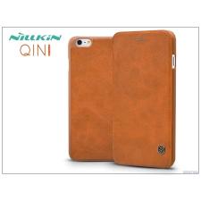 Nillkin Apple iPhone 6 Plus/6S Plus oldalra nyíló flipes tok - Nillkin Qin - barna tok és táska