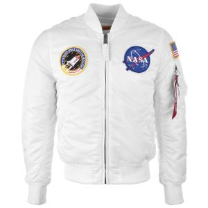 Alpha Industries MA-1 VF NASA - fehér