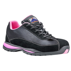 FW39 - Steelite női félcipő S1P - fekete/pink (37)