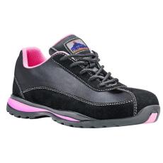 FW39 - Steelite női félcipő S1P - fekete/pink (40)