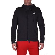 LecoqSportif Férfi Végigzippes pulóver Pop Sportif FZ Hood M dark heather grey