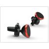 Haffner Univerzális szellőzőrácsba illeszthető mágneses PDA/GSM autós tartó - állítható fejjel - piros