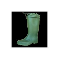 Gumicsizma - Bélelt zöld 01