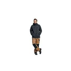 (OlZA) Téli munkás kabát szürke