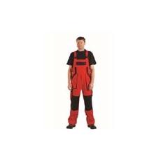 (MAX) kantáros nadrág piros-fekete