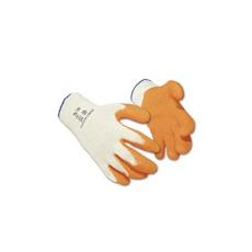 (A100) Latex mártott kesztyű narancs