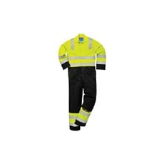 (MV28) Modaflame overall, sárga - sötékék