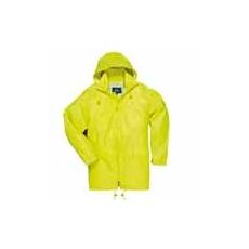 (S440) Klasszikus esőkabát sárga