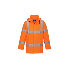 (S160) Lite Traffic kabát narancs