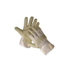 Shag  téli bélelt  munkavédelmi bőrkesztyű fehér