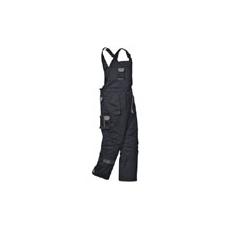 (TX17) Bélelt kantáros nadrág fekete