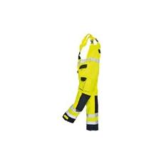 (TX52) Texo Hi-Vis mellesnadrág sárga/sötétkék