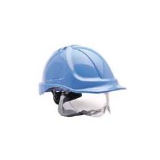 (PW55) Endurance védősisak védőszemüveggel királykék