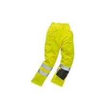 (E061) Láthatósági Action nadrág sárga