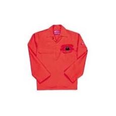 (BIZ2) Lángálló hegesztő kabát piros