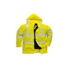 (S490) Sealtex Ultra bélelt kabát sárga
