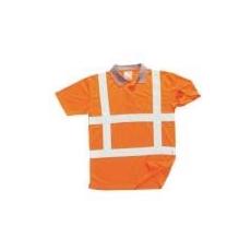(R422) Jól láthatósági teniszpóló RWS narancs