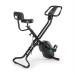 Capital Sports CAPITAL SPORTS Azura X2 X-bike szobakerékpér, max. 120 kg, pulzusmérő, összecsukható, 4 kg, fekete
