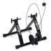 KLARFIT Klarfit Tourek, fekete, bicikli, szobakerékpár, otthoni edzőgép, 26/28 hüvelyk, 100 kg, acél