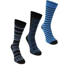 Firetrap zokni 3 pár / csomag - Firetrap Dress Sock Gift Set Mens