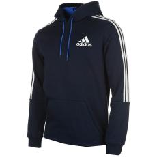 Adidas 3S Logo férfi kapucnis pulóver fehér M