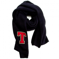 Tommy Hilfiger Sál TOMMY HILFIGER - TH Patch Knited Scarf Solid AWAW03324 902