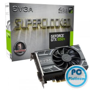 EVGA GeForce GTX 1050 Ti 4GB DDR5 Gaming (Superclocked)