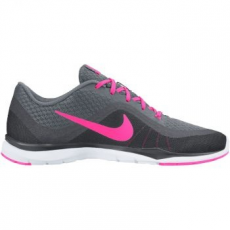 Nike Flex Trainer Női Sportcipő, Cool Grey/Pink, 36 (831217-003-5.5)