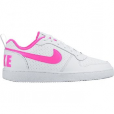 Nike Recreation Low gyerek sportcipő, White/Pink Blast, 36.5 (845104-100-4.5y)