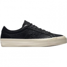 Converse One Star Ox Leather férfi tornacipő, Almost Black/Parchment, 44.5 (153705C-049-10.5)