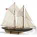 Billing Boats Bluenose 1:65 Asztali modell