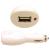 Nillkin Cellect USB szivargyújtó töltőfej, 2A, fehér
