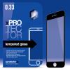 xPRO védőüveg, kijelzővédő üveg, üvegfólia, edzett üveglap – full size Black Blackberry Priv készülékhez