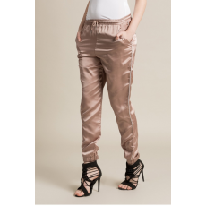 Missguided Nadrág Satin Cuffed Jogger