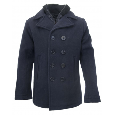 SCHOTT Cyclone Peacoat - dark navy