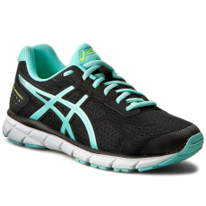 Asics Cipők ASICS - Gel-Impression 9 T6F6N Black/Aruba Blue/Safety Yellow 9078