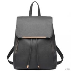 Miss Lulu London E1669- Miss Lulu női divatbőr hátizsák táska GRAY