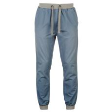 SoulCal Chino férfi gumis derekú pamut nadrág kék 3XL