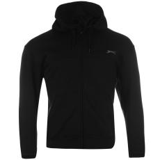 Slazenger Férfi cipzáras kapucnis pulóver fekete 3XL