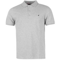 Kangol Brit férfi galléros póló szürke 3XL