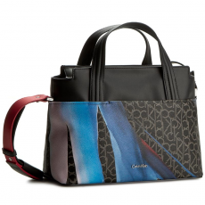 Calvin Klein Black Label Táska CALVIN KLEIN BLACK LABEL - Tin4 Medium Tote K60K602409 910