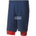 Adidas rövidnadrágEdzés adidas Crazytrain Two-in-One Shorts M BK6162