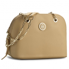 Tommy Hilfiger Táska TOMMY HILFIGER - Th Chain Small Domed Duffle AW0AW03707 251