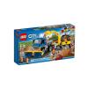 LEGO City Seprőgép és exkavátor 60152