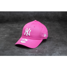 New Era Essential 9Forty Women Adjustable Fashion New York Yankees Cap Pink/ White