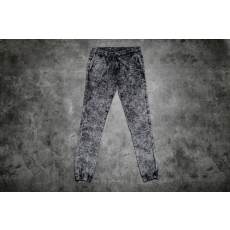 Urban Classics Stretch Denim Jogging Pants Acid Black