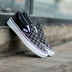 Vans Classic Slip-On Black/ Pewter Checkerboard