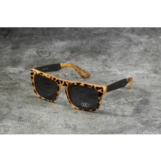 Vans Squared Off Clear Tortoise Sunglasses