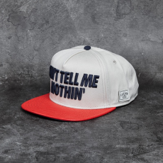 Cayler & Sons WL Tell Me Nothin' Cap Sand/ Red/ Navy