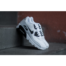 Nike Air Max 90 LTR (GS) White/ Black-Pure Platinum-White